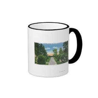 View of the Tanglewood Gardens # 2 Mug