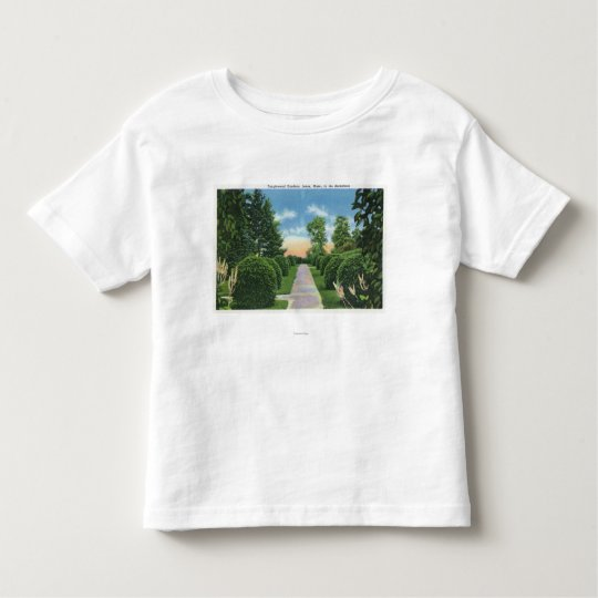 View of the Tanglewood Gardens # 2 Toddler T-shirt