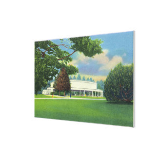 View of the Tanglewood Music Shed and Grounds Canvas Print