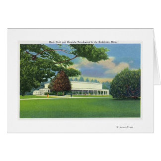View of the Tanglewood Music Shed and Grounds Greeting Card