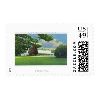View of the Tanglewood Music Shed and Grounds Postage