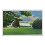 View of the Tanglewood Music Shed and Grounds Poster