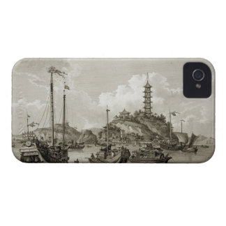 View of the Tchin Shan, or Golden Island, in the Y iPhone 4 Case-Mate Case