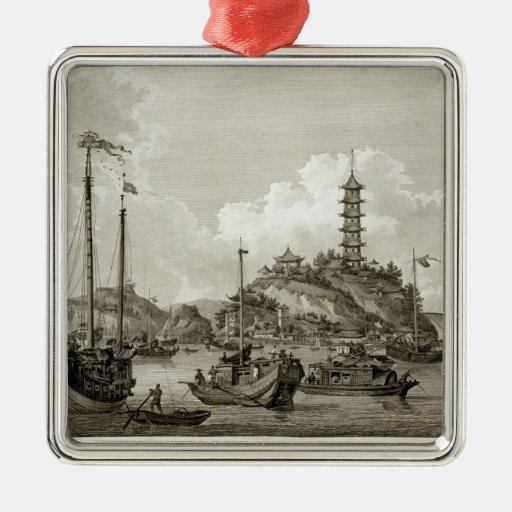 View of the Tchin Shan, or Golden Island, in the Y Ornaments