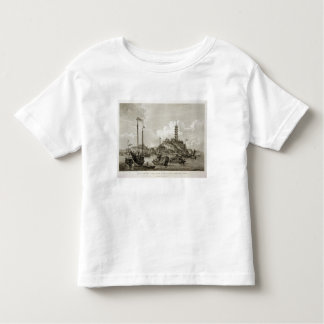 View of the Tchin Shan, or Golden Island, in the Y T-shirt
