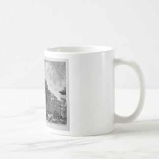 View of the Temple of Antoninus and Faustina Classic White Coffee Mug