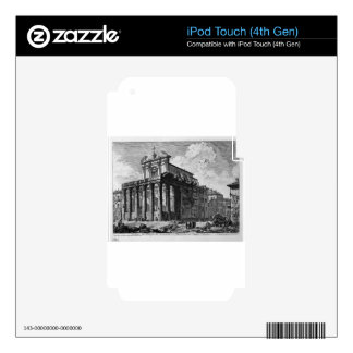 View of the Temple of Antoninus and Faustina Decal For iPod Touch 4G