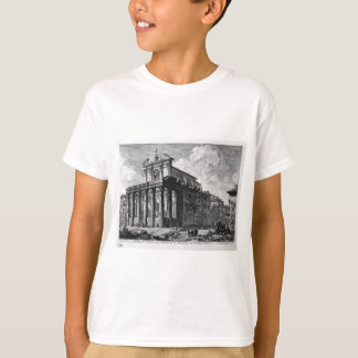 View of the Temple of Antoninus and Faustina T-Shirt