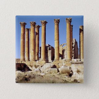 View of the Temple of Artemis, built c.386 AD Pinback Button
