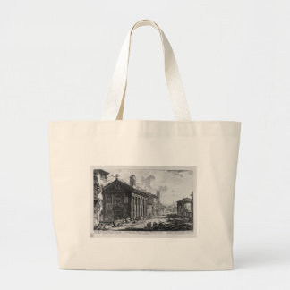 View of the Temple of Cybele at Square Mouth Large Tote Bag