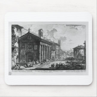 View of the Temple of Cybele at Square Mouth Mouse Pad