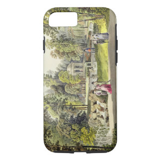 View of the Temple of Diana at Erlaw, engraved by iPhone 8/7 Case
