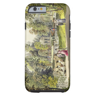 View of the Temple of Diana at Erlaw, engraved by iPhone 6 Case