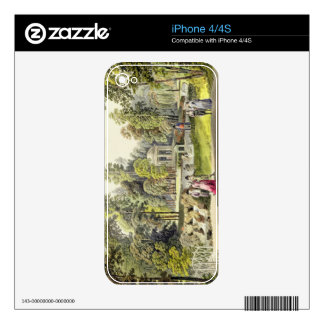 View of the Temple of Diana at Erlaw, engraved by Decal For iPhone 4