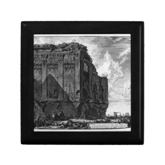 View of the Temple of Hercules in the City of Cora Gift Box
