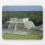 View of the Temple of the Warriors  post 150 AD Mouse Pad