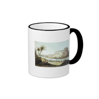 View of the Temples Ringer Coffee Mug