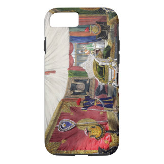 View of the tented room and ivory carved throne, i iPhone 8/7 case
