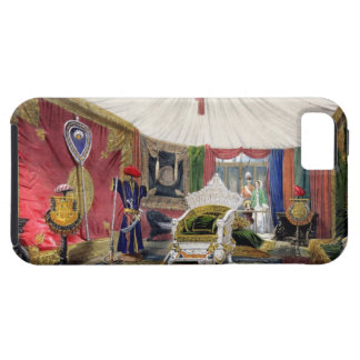 View of the tented room and ivory carved throne, i iPhone SE/5/5s case