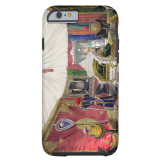 View of the tented room and ivory carved throne, i tough iPhone 6 case