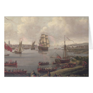 View of the Thames, 1761 Card