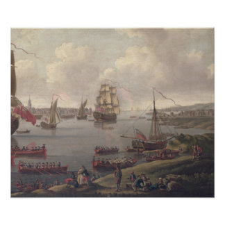 View of the Thames, 1761 Poster