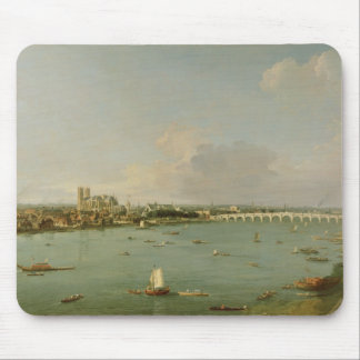 View of the Thames from South of the River Mouse Pad