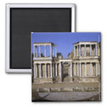 View of the theatre, begun 24 BC (photo) 2 2 Inch Square Magnet