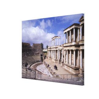 View of the theatre, begun 24 BC (photo) 5 Canvas Print