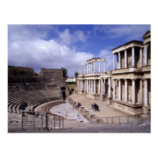 View of the theatre, begun 24 BC (photo) 5 Postcard
