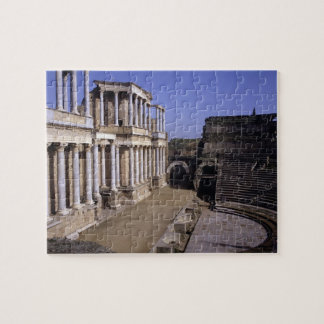 View of the theatre, begun 24 BC (photo) Jigsaw Puzzle