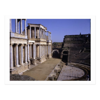 View of the theatre, begun 24 BC (photo) Postcard