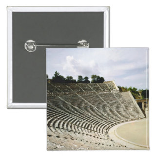 View of the theatre c 360 BC Pinback Buttons