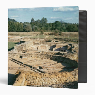 View of the thermal baths 3 ring binder