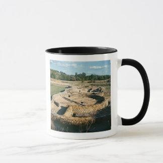 View of the thermal baths mug