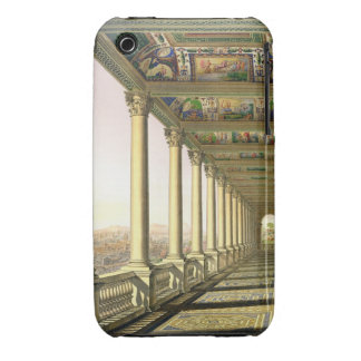 View of the third floor Loggia at the Vatican, wit iPhone 3 Case-Mate Cases