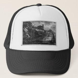 View of the Tiber Island by Giovanni Battista Pira Trucker Hat