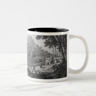 View of the torrent known as La Sanguese Two-Tone Coffee Mug