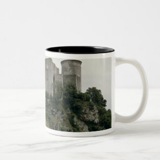 View of the Tour de Talbot and keep of the Two-Tone Coffee Mug