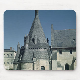 View of the Tour d'Evrault Mouse Pad