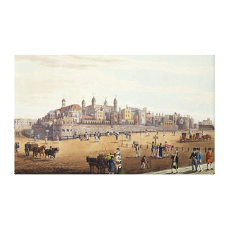 View of the Tower of London Canvas Print