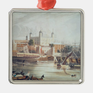 View of the Tower of London Metal Ornament