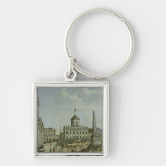 View of the Town Hall, 1772 Keychain