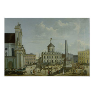 View of the Town Hall, 1772 Poster