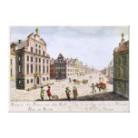 View of the Town Hall, Boston Gallery Wrapped Canvas