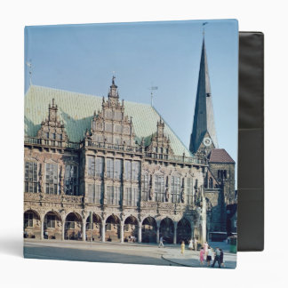 View of the Town Hall built 1405-09 Vinyl Binders