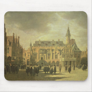 View of the Town Hall in the Market Square of Haar Mouse Pad