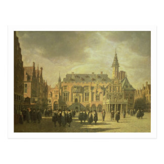 View of the Town Hall in the Market Square of Haar Postcard