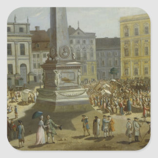 View of the Town Hall, Potsdam Square Sticker