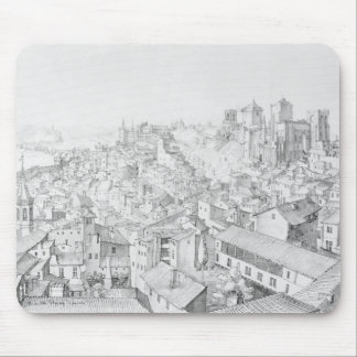 View of the Town of Avignon and its surroundings Mouse Pad